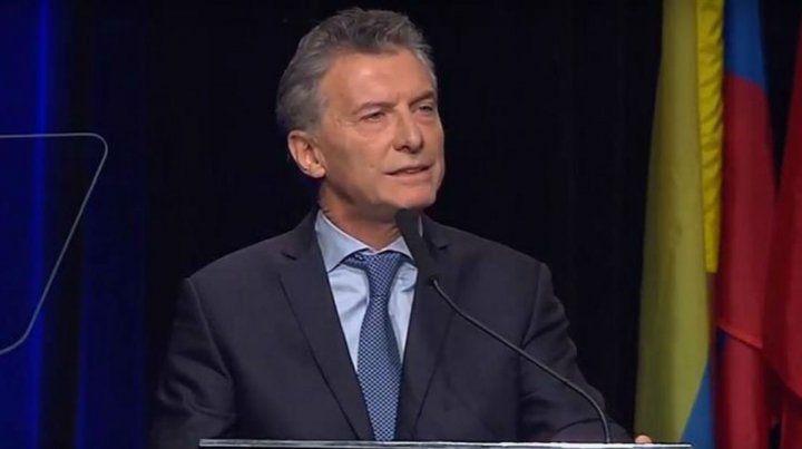 Macri: Esta es una fecha para unirnos y decir Nunca Más