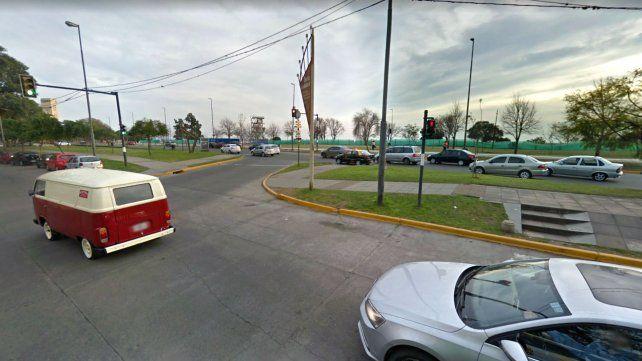 El choque ocurrió en Illia y Moreno.