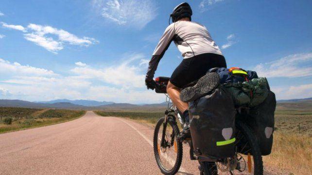 El cicloturismo gana adeptos entre los argentinos