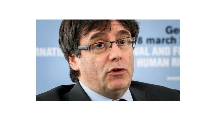 atrapado. Carles Puigdemont había huido a Bélgica el 29 de octubre del año pasado.
