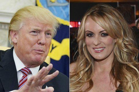 dúo. Trump y Stormy se conocieron en 2006 y tuvieron sexo pago.