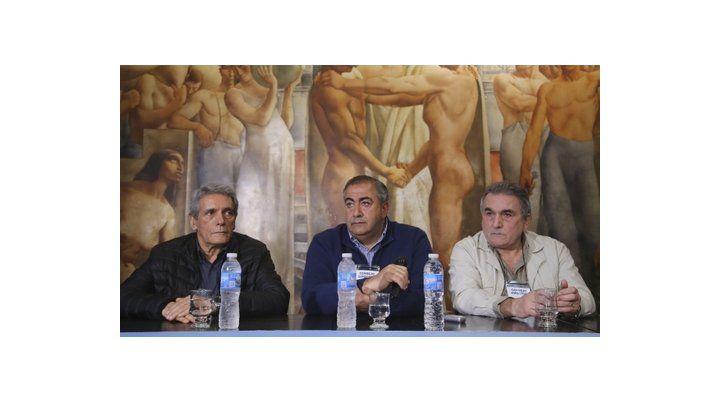 Trío en crisis. La reunión prevista en la sede de Azopardo será la defunción a mediano plazo del triunvirato.