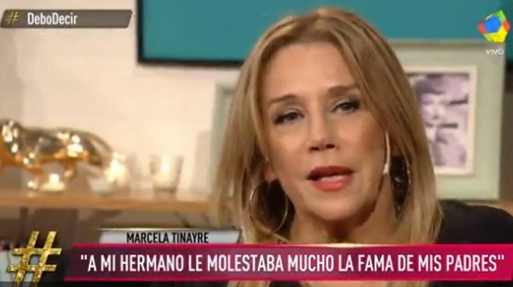 No fue un hombre feliz, lamentó Marcela Tynare sobre su hermano