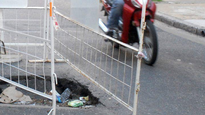 El municipio debe pagarle 400 mil pesos a una motociclista que cayó por esquivar un bache
