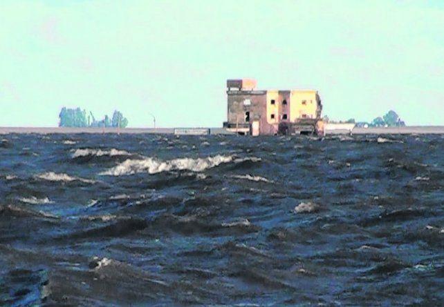 trampa mortal. Un temporal sorprendió a los pescadores en la laguna.