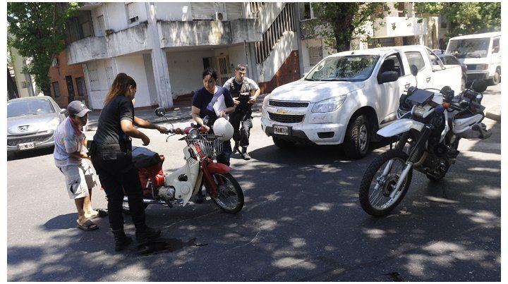 La ausencia del casco en motociclistas se consolida como la falta más cometida.