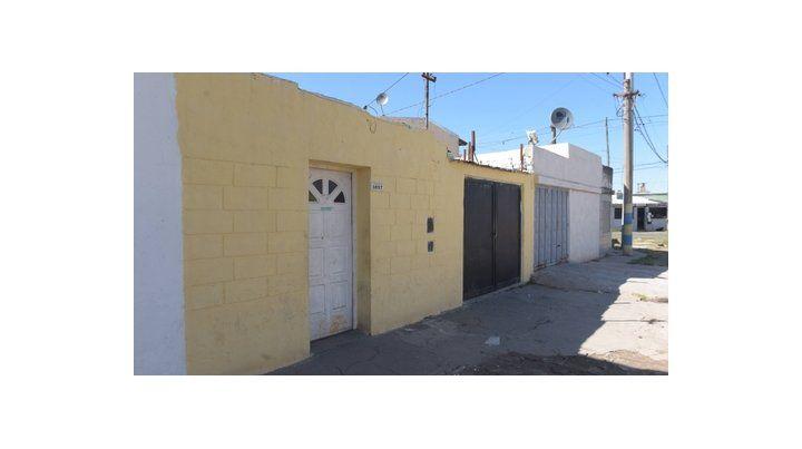 tafí 3987. La casa donde mataron a Jorge Federico Ayala el domingo a la noche. Ahí funciona un templo.