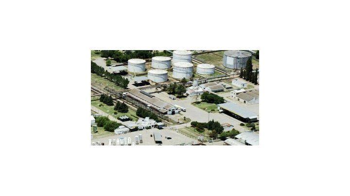 parada. La Refinería San Lorenzo arrastra una crisis desde hace meses.