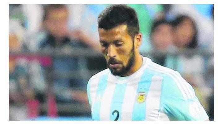 Otros tiempos. El ex defensor rojinegro nunca fue convocado por Sampaoli.