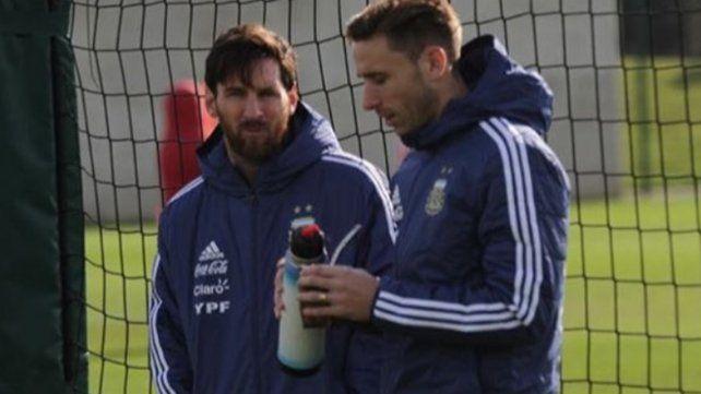 Biglia se metió en los titulares tras la salida de Messi