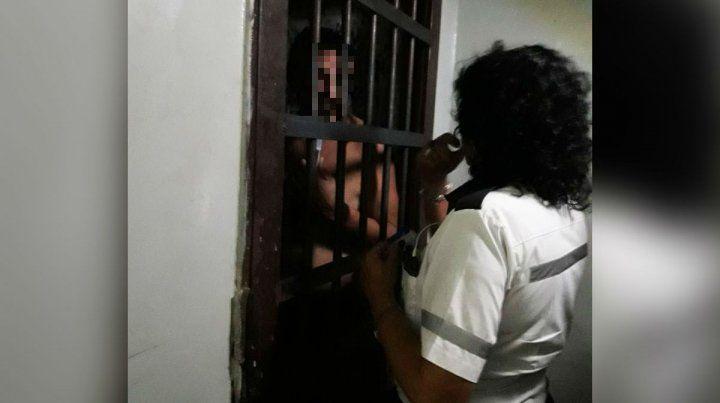 El conductor quedó detenido en la Subcomisaría 22.