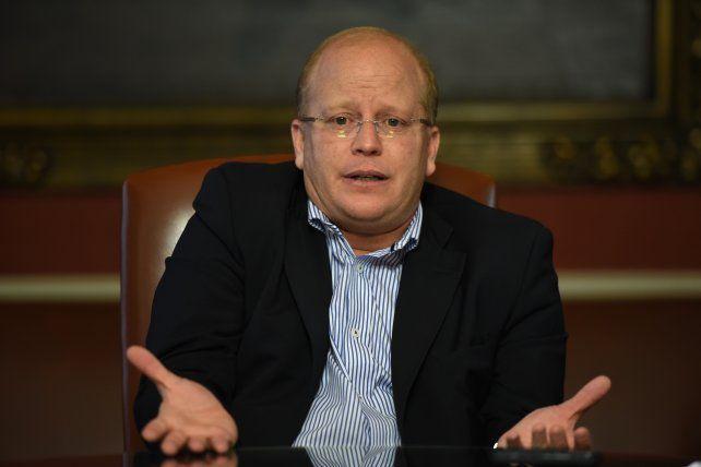 El legislador nacional por Santa Fe Luis Contigiani.