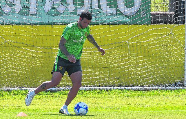 En duda. Herrera tenía todo para ser titular junto a Zampedri. Ahora tendrá que esperar para ver si le calma el dolor.