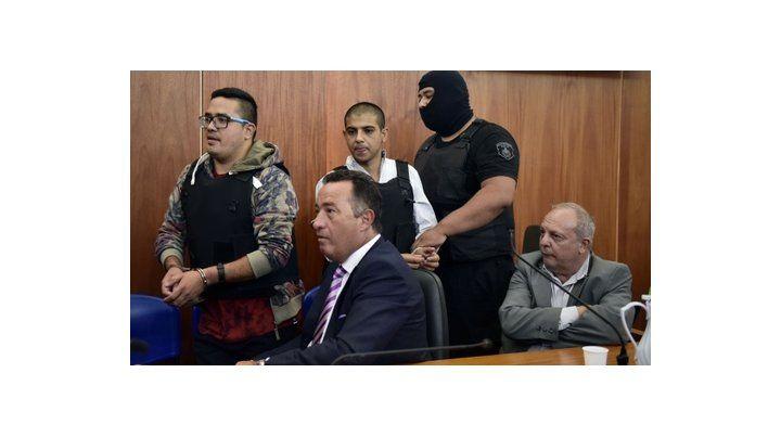 líderes. Ariel Máximo Guille Cantero y Emanuel Ema Chamorro en el juicio que les sigue la Justicia provincial.