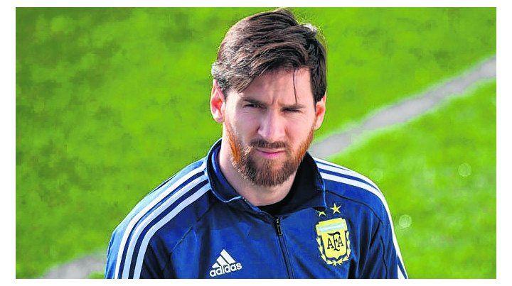 Fuera de juego. Leo no pudo participar de los ensayos ante Italia y España.