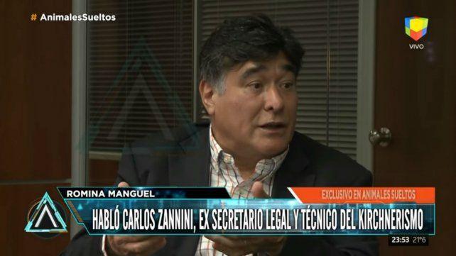 Zannini rompió el silencio: Con Nisman nos tiraron un muerto