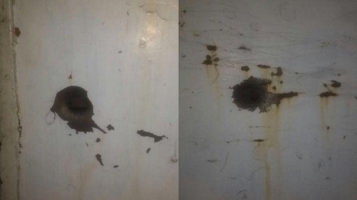 Denuncian ataque a balazos a la casa del hijo de Norma Acosta
