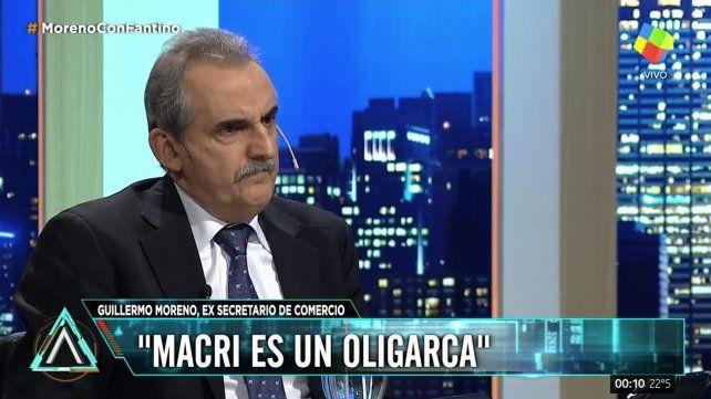 Dejamos un 7 por ciento de pobreza, aseguró Guillermo Moreno