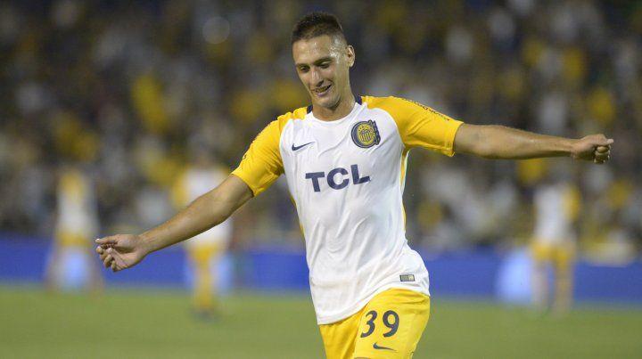 Agustín Mazziero hizo dos goles ante Chacarita.