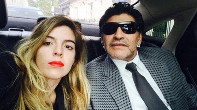 Maradona confirmó que no asiste a la boda y Dalma se puso a llorar