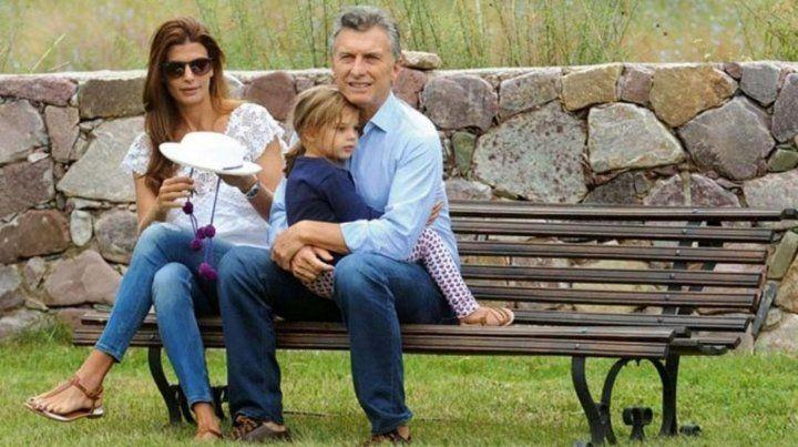 El presidente disfruta de unos días de descanso junto a su familia en Chapadmalal.