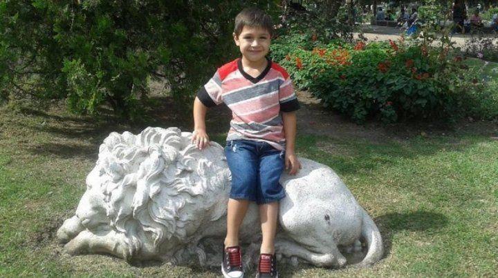 Thiago tenía cuatro años cuando fue atropellado por el expiloto de Turismo Carretera.