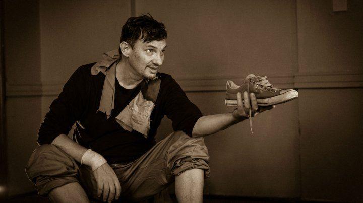 El actor Claudio Garófalo interpreta al ex futbolista rosarino Tomás Carlovich