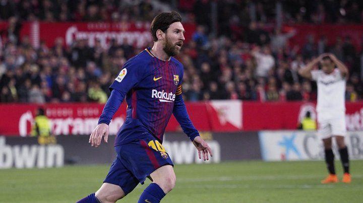 El más esperado. Leo Messi volvió en Barcelona y fue clave para el empate ante Sevilla.