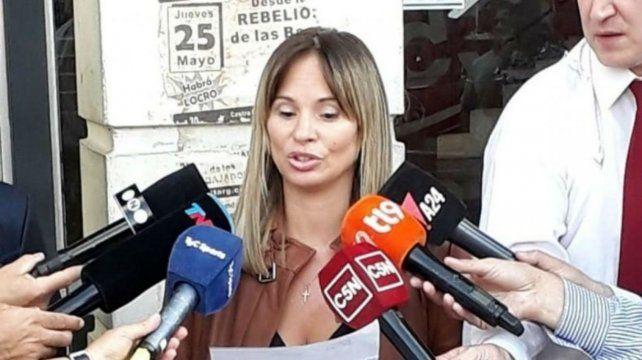 Funcionaria. La fiscal María Soledad Garibaldi que lleva adelante la amplia investigación.