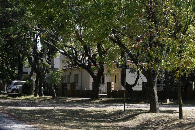 Esquina. La casa de Brown y Junín donde ocurrió el trágico hecho.