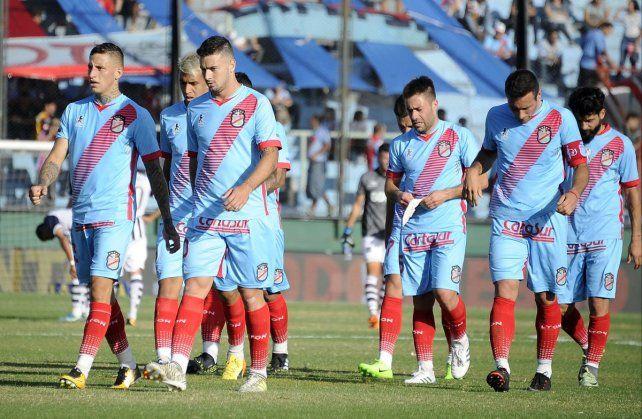 A la B Nacional. Arsenal descendió de categoría luego de la derrota de Central en Paraná.