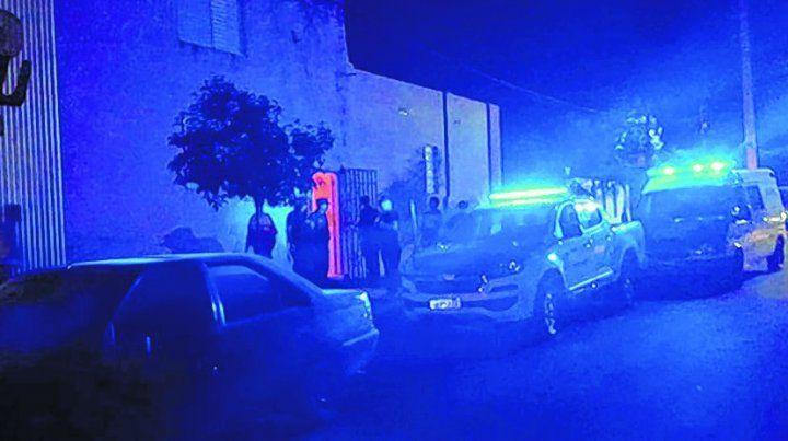 Operativo. La policía allanó dos viviendas tras varios días de investigación para desarticular una banda.