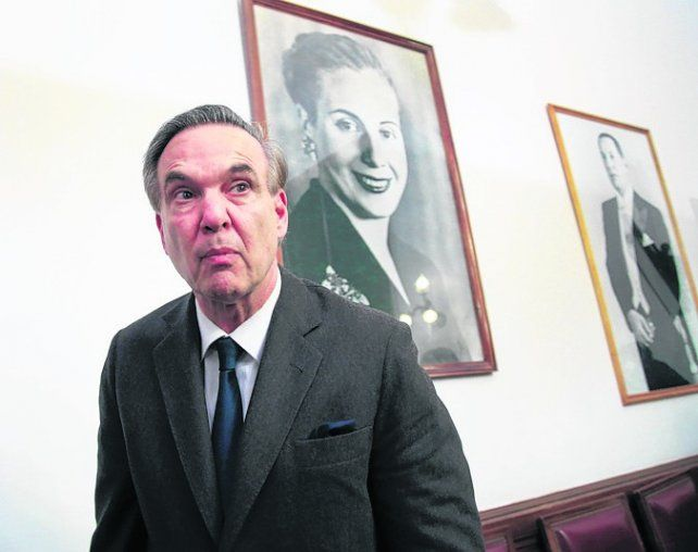 gestor. Pichetto lidera el grupo y apoya la candidatura de Urtubey.