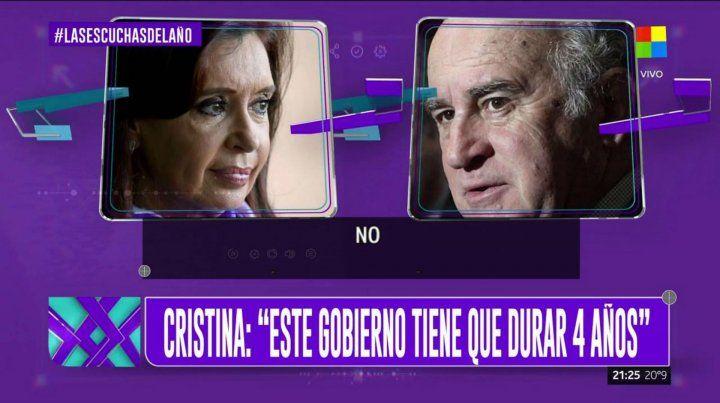 Nuevas escuchas de Cristina: Lo de De Vido me hinchó bastante las pelotas