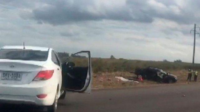 Tres nenas argentinas murieron en un accidente en Uruguay
