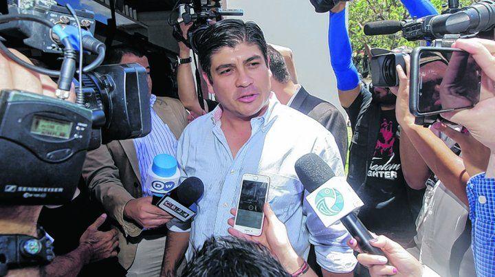 día después. Carlos Alvarado reiteró ayer su compromiso con la búsqueda de una mayor igualdad.