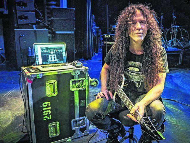 hastío. Marty Friedman prefiere no gastar saliva hablando de Megadeth