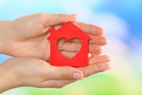 sueño cumplido. La adolescente anhelaba una casa para toda la vida.