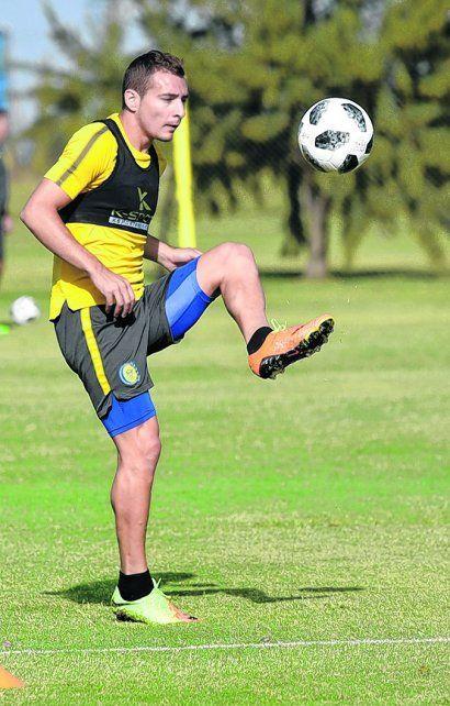 Marco Ruben vuelve a la formación titular de Central ante San Pablo por la Sudamericana.