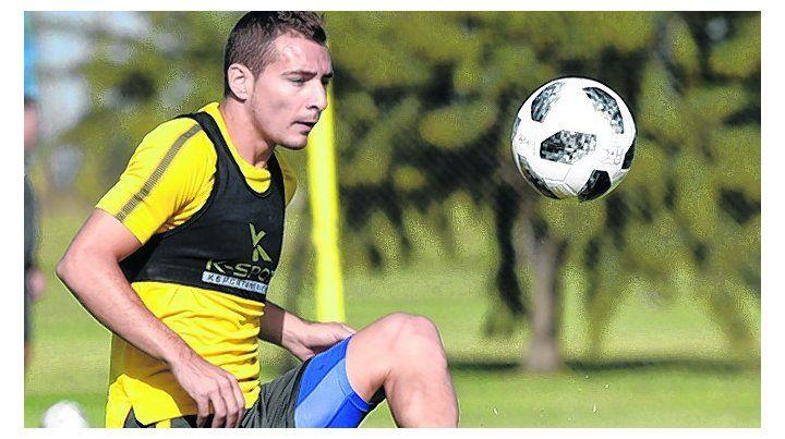 Al pie. Ruben espera estar a disposición del técnico para el partido ante Belgrano.