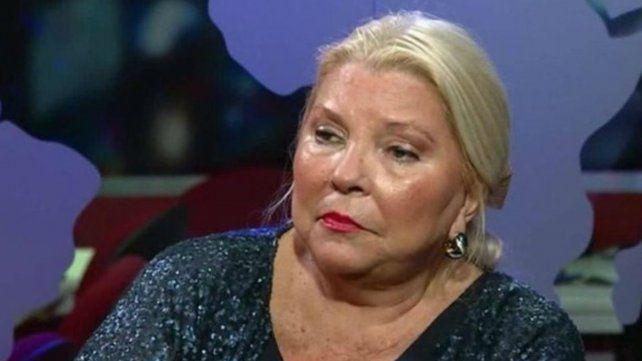 Carrió se metió en la polémica de Natacha con Mirtha Legrand