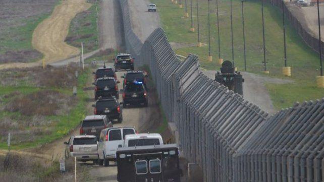 Trump quiere que el ejército vigile la frontera con México