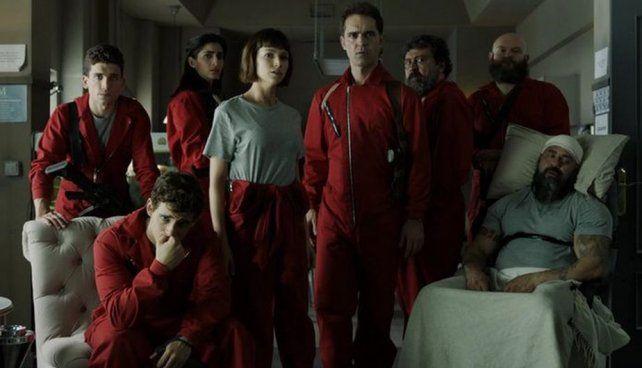 La segunda temporada de La casa de papel estará disponible en Netflix desde el próximo viernes.