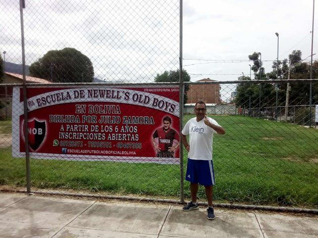 El Negro Zamora logró rehacer su vida de la mano de Newells