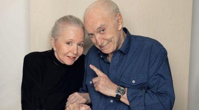 Pinky y Cacho Fontana, juntos desde la clínica geriátrica donde conviven