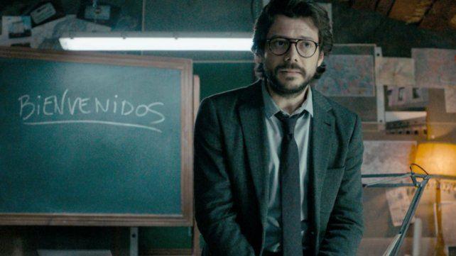 El Profesor de La casa de papel le envió un mensaje enigmático al Banco Central de Argentina
