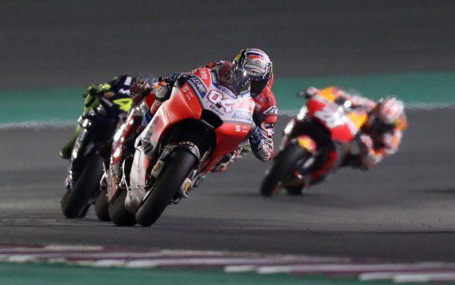 El piloto Andrea Dovizioso (Ducati)