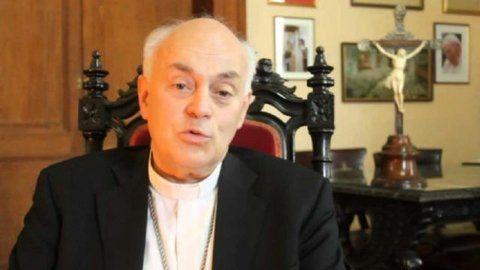 monseñor juan alberto puiggari. El arzobispo de Paraná aprobó el protocolo contra abusos sexuales.
