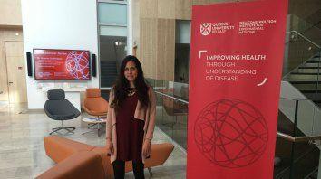 Fabiana Bisaro estudió biotecnología en la Facultad de Ciencias Bioquímicas y Farmaceúticas de la UNR.