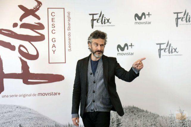 Convencido. El actor de Félix.